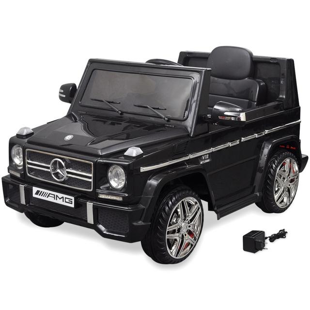Rocambolesk Superbe Voiture Suv électrique Mercedes Benz G65 2 moteurs Noir neuf