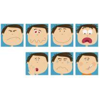 House Of Kids - dalles 29x29cm - attitude du visage