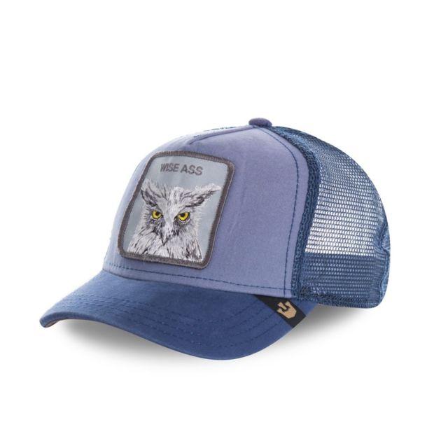 34f85b99fb1ec Goorin - Casquette Bros Wise Ass Gb 0 1 WISEASS Couleur - Bleu ...