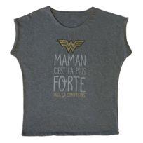 DC COMICS - Tee-shirt femme à message