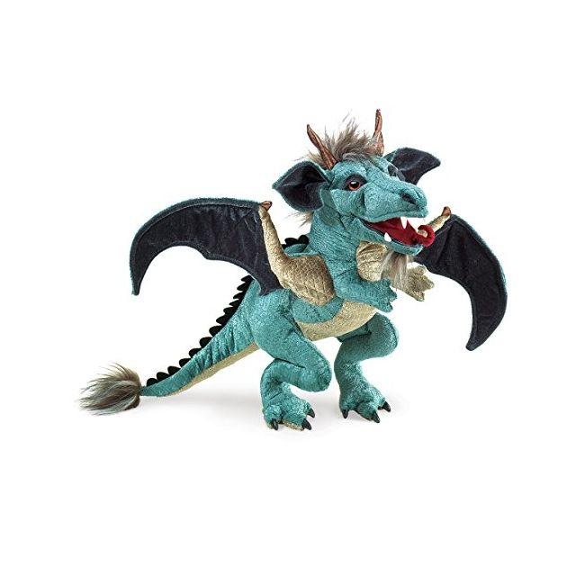 Achat Dragon Main Ciel À Pas Vente Marionnette Folkmanis Cher ARL45j