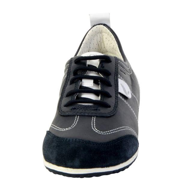 Geox Chaussure Vega Navy pas cher Achat Vente Baskets