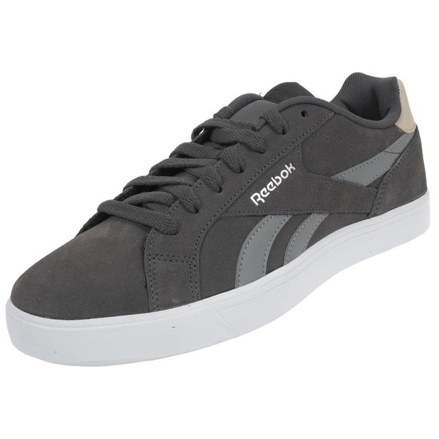 Chaussures basses cuir ou simili Royal comple ash grey Gris 53636
