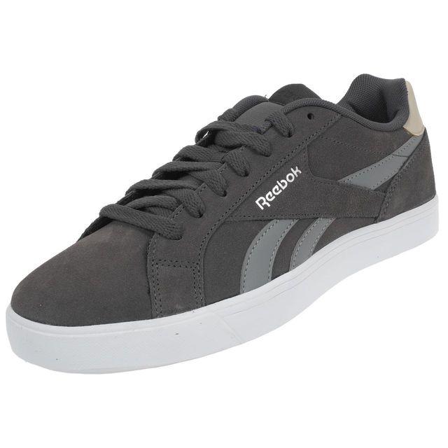 Ash Ou Grey Gris Comple Basses Reebok Cuir Royal Simili Chaussures Y7gvIfyb6