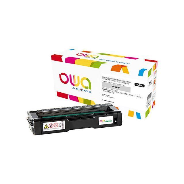 Toner Armor Owa compatible Ricoh 406479 noir pour imprimante laser