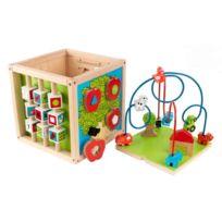 Kidkraft - 63243 - Jouet Premier Age - Cube Labyrinthe À Boules
