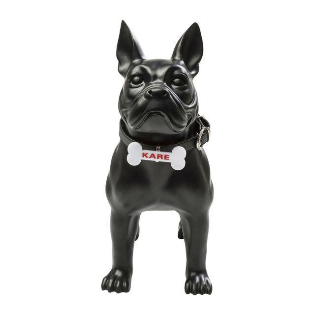 Karedesign Déco chien Toto noire 44cm Kare Design