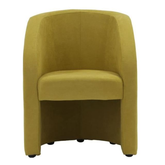 FAUTEUIL TED Fauteuil SORO Jaune