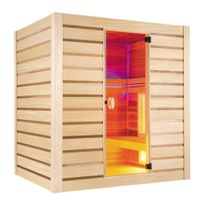 Holl'S - Sauna Quartz Combi 4 places Hybride Holls