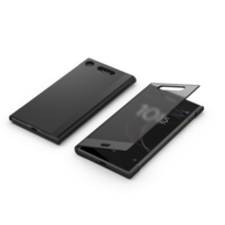 SONY - Style Cover Touch SCTG50 Xperia XZ1 - Noir