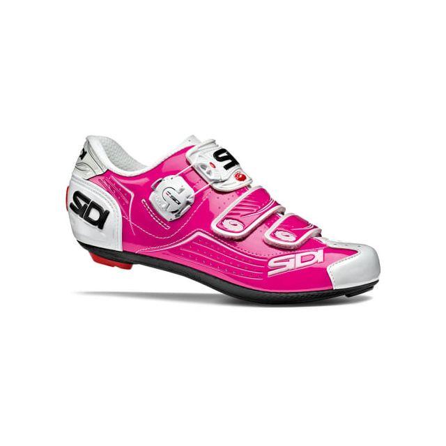 d6684059459 Sidi - Chaussures Alba fuchsia femme - pas cher Achat   Vente Chaussures  cyclisme - RueDuCommerce