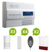Paradox - Mg-6250 - Alarme maison sans fil Rtc+GSM - Kit 6
