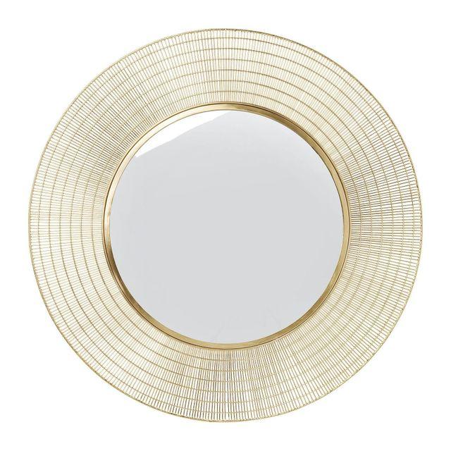 Karedesign Miroir Nimbus laiton 90cm Kare Design