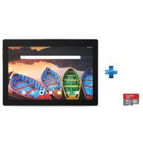 Tab X103F - 10,1'' IPS HD - 16 Go - Noir + Carte micro SD Ultra 16 Go
