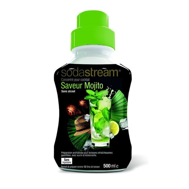 SODASTREAM Concentré saveur Mojito sans alcool 500ml 30025504