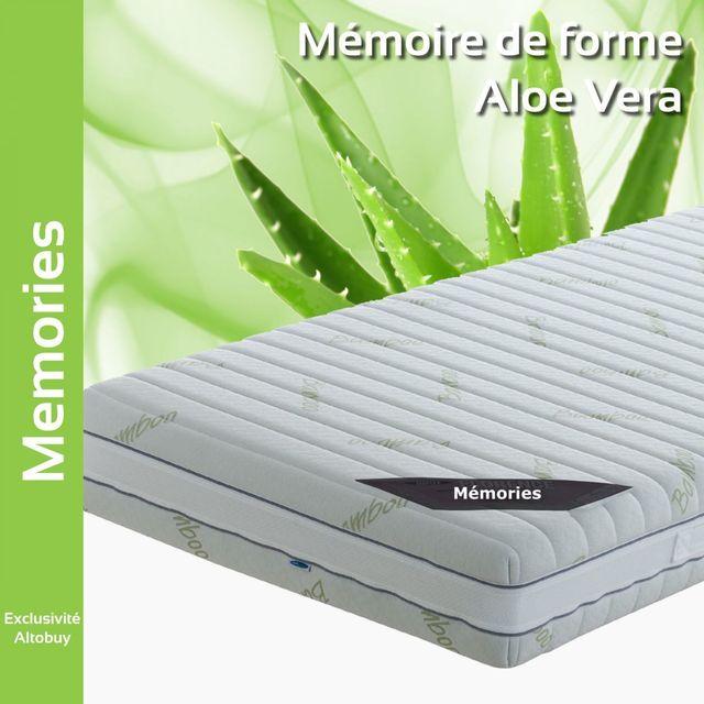 Altobuy - Memories - Matelas mémoire de forme 140x190cm