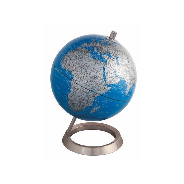globe terrestre 20 cm bleu glossy pas cher achat vente jeux ducatifs rueducommerce. Black Bedroom Furniture Sets. Home Design Ideas