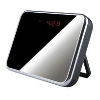 Yonis - Réveil camera espion miroir détecteur de mouvement Usb Micro Sd