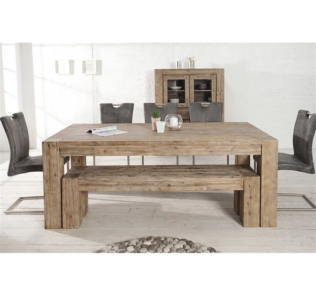 CHLOE DESIGN Table design TEKA - bois