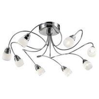 Esto Lighting - Plafonnier Chrome Ohara Led 8x 5W 780010-8