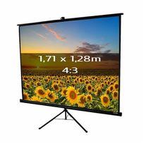 Kimex - Ecran de projection trépied 1,71 x 1,28m, format 4:3