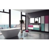 Riho - Ensemble meuble & lavabo Cambio Sentito Set 23 en bois stratifié 120x48x H 57 cm