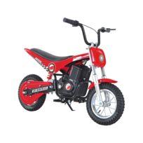 HOMCOM - Moto électrique Dirtbike enfant 350 W suspension intégrale V.max. 23 Km/h rouge neuf 18