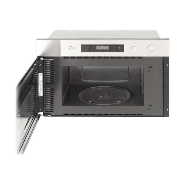 MARQUE GENERIQUE MICRO-ONDES AMW490IX Micro-ondes monofonction encastrable - 22 L - 750 W - Acier inoxydable