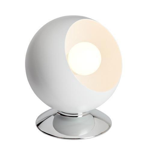 Brilliant - Magali - Lampe à poser Blanc H17,5cm - Lampe à poser designé par