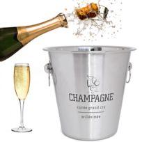 Trend - Seau à champagne Millésime inox