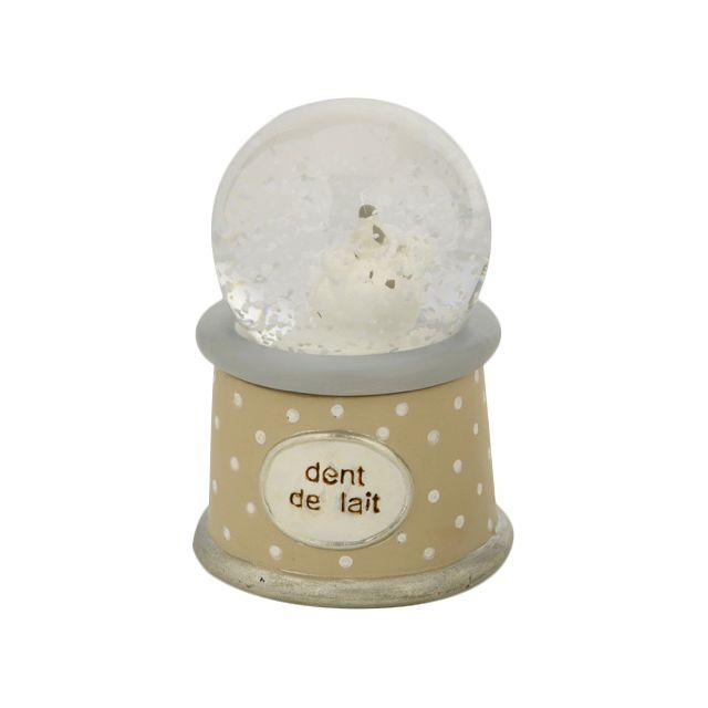 AMADEUS LES PETITS Boite à dent de lait boule de neige Ourson