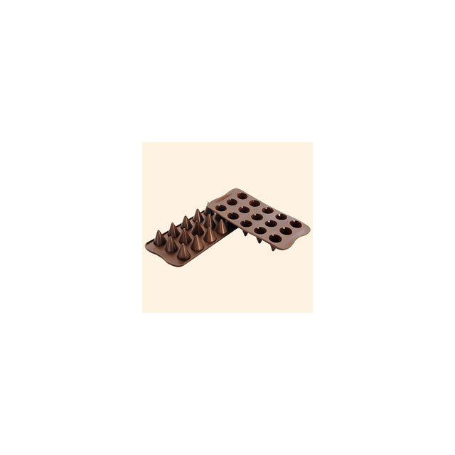 Silikomart Moule Silicone 15 Chocolats - Cônes