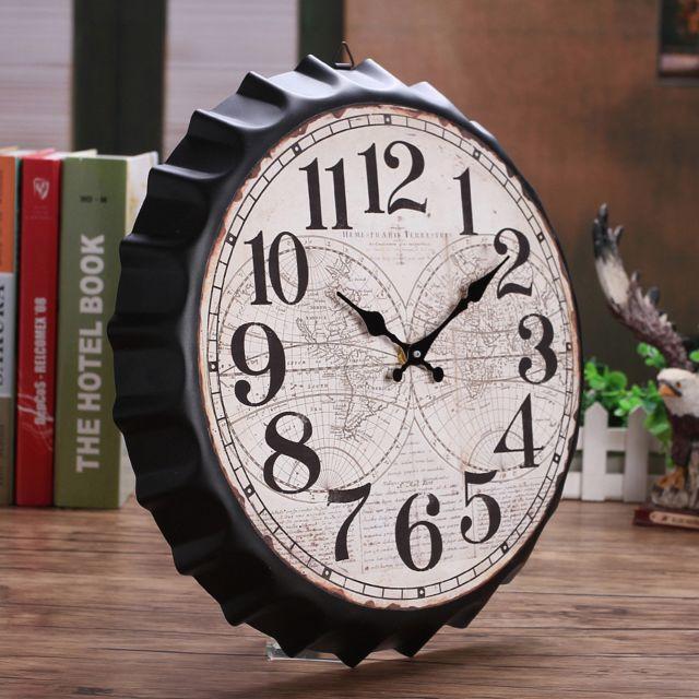 Generic Vintage Style Non Coutil Silencieux Antique Horloge