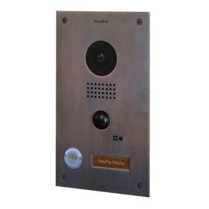 doorbird portier vid o ip wifi encastrable d202b. Black Bedroom Furniture Sets. Home Design Ideas