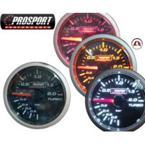Prosport - Manometre - Pression de Turbo - 2 bars - 52mm