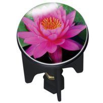 Wenko - Bouchon de Lavabo Pink Lily 4 x 4 x 6.5 cm