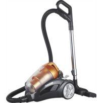 Klaiser - Aspirateur Sans Sac Turbo Confort Bs102 2400W - Equipé d'une poignée ergonomique - Couleur orange-noir