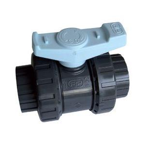 Piscine center o 39 clair vanne fip pn 16 pvc 50 mm pas for Accessoire piscine 16