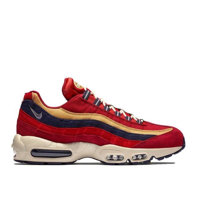 c0ebe0fa3a2b Nike - Basket mode Air Max 95 Prm - 538416603 Rouge - 44 1/2 - pas ...