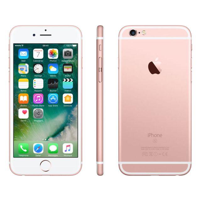 8e1a736e9da55e APPLE iPhone 6S - 32 Go - MN122ZD A - Or Rose pas cher - Achat ...