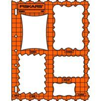 Fiskars - Gabarit de découpe cadres