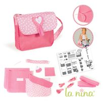 La Nina - Kit créatif : Sac à coudre rose