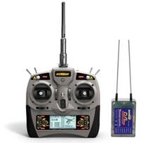 DYNAM - Radio 6 voies 2.4Ghz + récepteur RXC7 + câble USB Simulateur