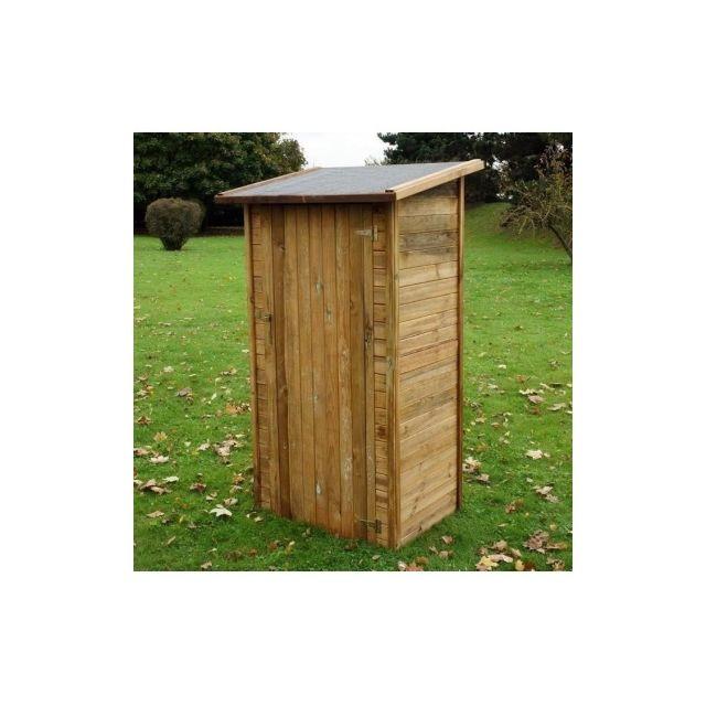 CHALET ET JARDIN Armoire de jardin en bois traite FSC