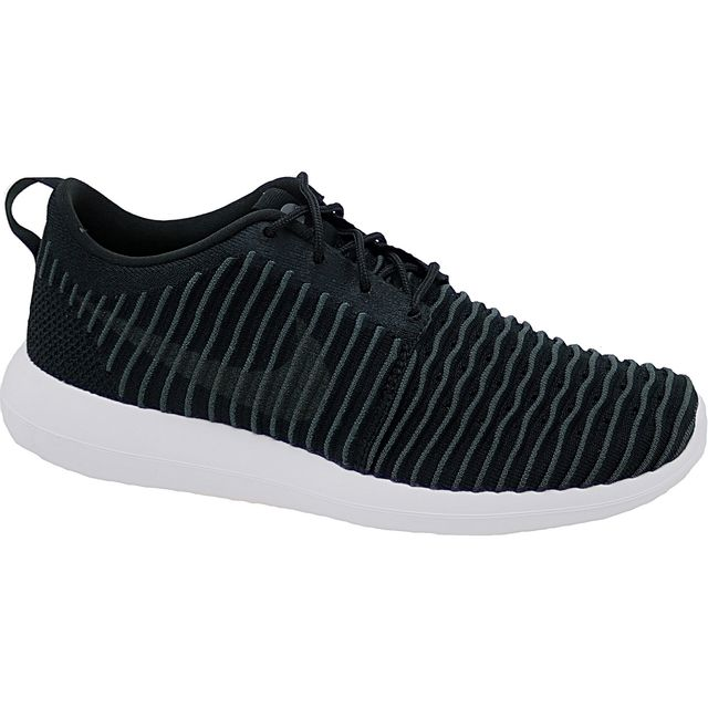 cheap for discount 11556 28f77 Nike - Roshe Two Flyknit 844833-001 Homme Baskets Noir - pas cher ...
