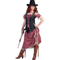 Funny fashion - Déguisement Cowgirl - Femme - Taille : L - 40/42