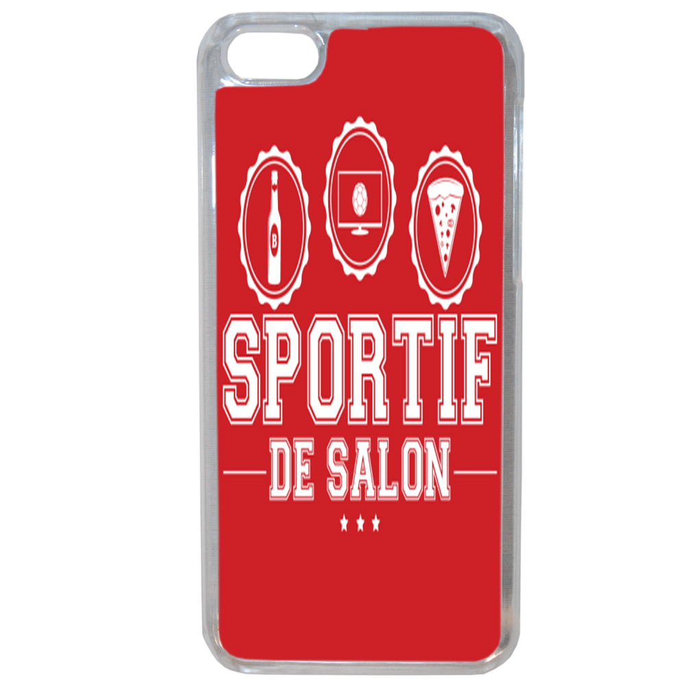 Lapinette coque rigide humour sportif pour apple iphone 7