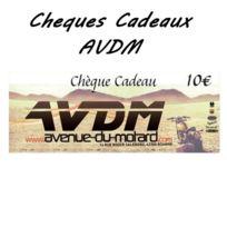 Avdm - Cheque cadeau 10€ classic