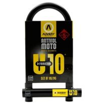 Auvray - Antivol U Force 10 105 X 245 noir jaune