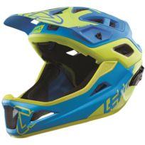 Leatt Brace - Dbx 3.0 Enduro - Casque intégral - jaune/bleu